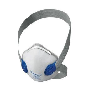 Respirador material particulado R10 doble valvula