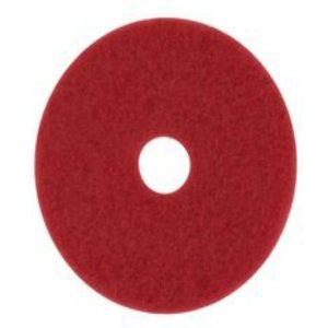Pad o disco de limpieza rojo 20